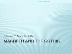 MAcbeth and Gothic.pptx