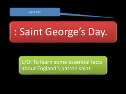 Who was St.George ?