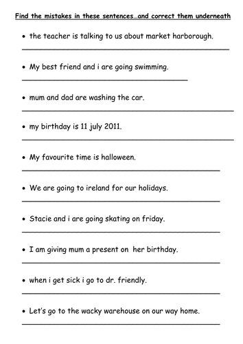 Worksheets Sentence Building Worksheets improving sentence structure level up your vocab by g session 6 worksheet find the mistakes in sentences af6 doc
