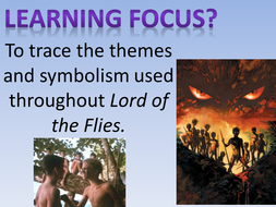 lord of the flies revision of themes and symbols by spenneylm  revision of themes and symbols pptx