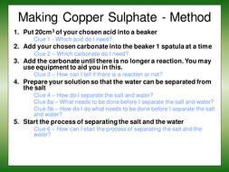 skeleton method - making copper sulphate- Method.ppt