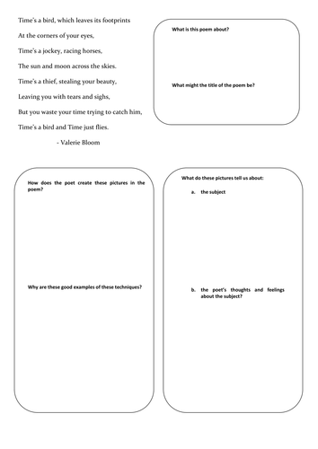 low ks3 high ability ks2 poetry worksheets by supreme 316 teaching resources tes. Black Bedroom Furniture Sets. Home Design Ideas