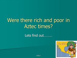 Rich and poor aztecs