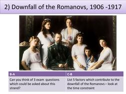 Downfall of the Romanovs, 1906 -1917
