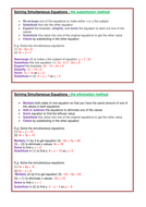 Simultaneous equations summary.docx