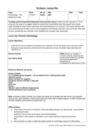 Forensic Entomology The Apprentice Style Lesson Plan.doc