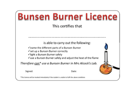 how to use a bunsen burner by seasquirt teaching resources tes