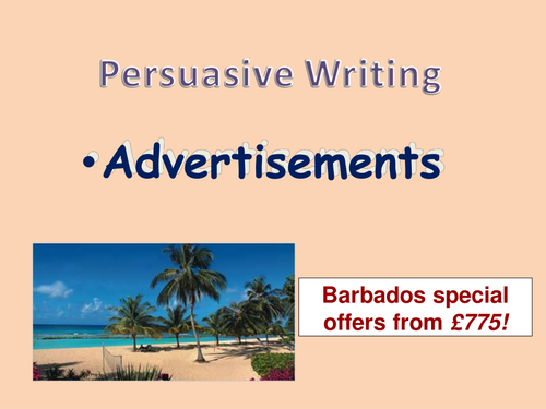 persuasive writing advert features by carly teaching resources persuasive writing advert features by carly24 teaching resources tes