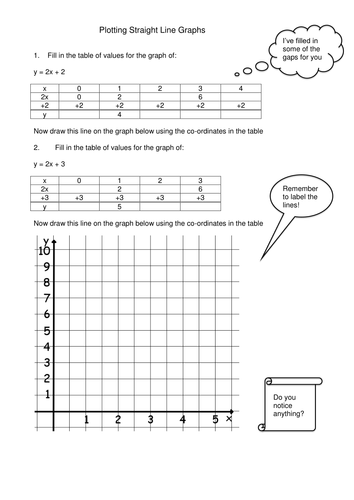 Number Names Worksheets » Graph Lines Worksheet - Free Printable ...
