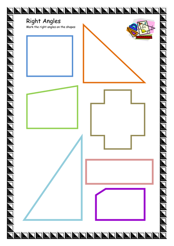 Right Angles Worksheets : Right angles by lbrowne teaching resources tes
