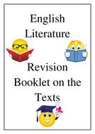 WJEC Literature GCSE Revision Booklet