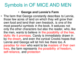 examples of imagery in of mice and men
