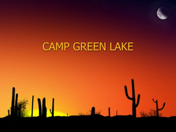 camp green lake by cazzie123 teaching resources tes