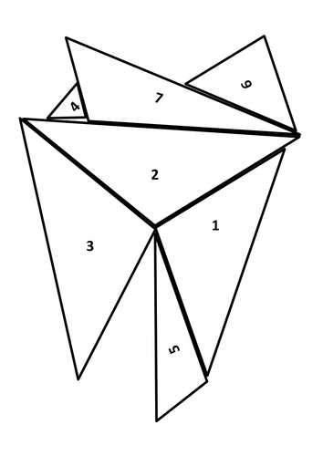 GCSE Similar Triangles Geometry Activity by JNNorth