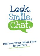 Deaf Awareness Lesson Plans