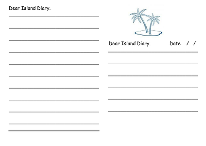 How to write a diary entry by ian markforsyth uk for Diary writing template ks1