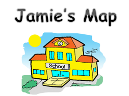 Mapping a route - Jamie's Map by kmed2020 | Teaching Resources on