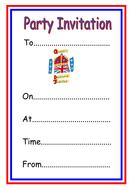 Diamond jubilee party invitation template by kmed2020 teaching diamond jubilee party invitation template stopboris Choice Image