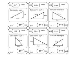 Trigonometry Loop Cards