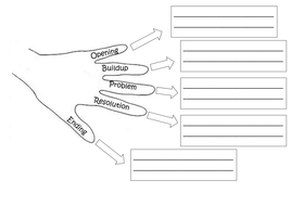 Story hand with writing boxes.docx
