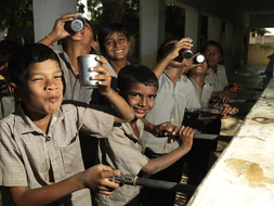 Shree Padampar Primary School, Fairtrade premium drinking water, India ©Peter Caton (1).jpg