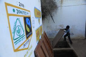 Shree Padampar Primary School, Fairtrade premium compost system, India ©Peter Caton.jpg