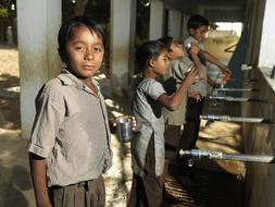 Shree Padampar Primary School, Fairtrade premium drinking water, India ©Peter Caton.jpg