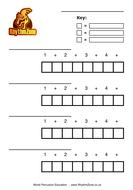 RhythmZone Blank Box Notation Worksheets
