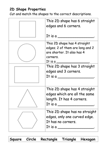 Homework 2d shapes