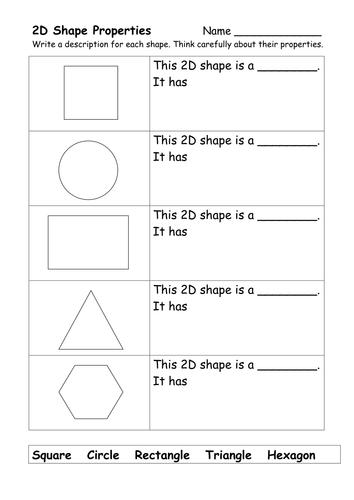 2d and 3d shape worksheets by ehazelden uk teaching resources tes. Black Bedroom Furniture Sets. Home Design Ideas