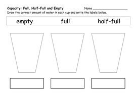 Capacity Worksheets by ehazelden | Teaching Resources