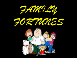 Family Fortunes Powerpoint Template by gerwynb - Teaching Resources ...