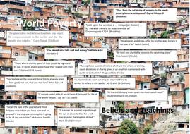Religious quotes on World Poverty