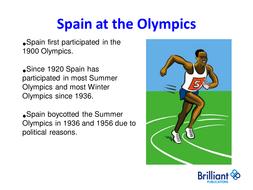Spanish Olympics Powerpoint