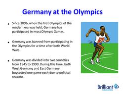 German Olympics Powerpoint