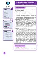 Primary - Immunity: Teacher Sheets