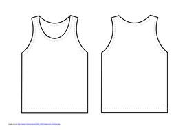 design running vest by anon2584 teaching resources tes