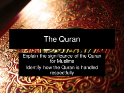 The quran by stellalithgow teaching resources tes the quran toneelgroepblik Images