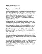 My heart pumps blood.doc