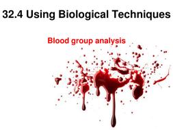 Unit 32-4 Biological Techniques.ppt