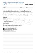 AQA English - FAQ.doc