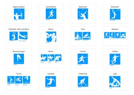 Olympische Sportarten 2017