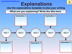 Explanations Writing Frame.ppt