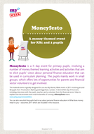 Moneyfesto - a student voice day for KS1 & 2