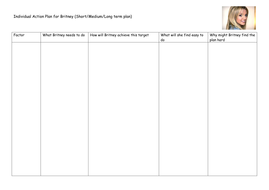 23 Differentiated Individual Action Plan for Britney.docx