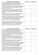genetic engineering advant disadvantage worksheet by mrbayres teaching resources tes. Black Bedroom Furniture Sets. Home Design Ideas
