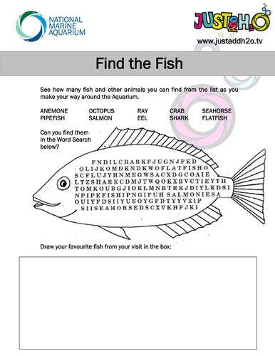 Printables Marine Biology Worksheets worksheets marine related activities by justaddh20 teaching resources tes