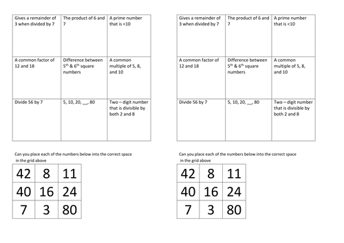 Types of Number by stericker - Teaching Resources - TES