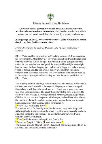 Punctuation Worksheets by TheConnaughtSchool - Teaching Resources ...