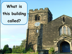 Places of worship - Powerpoint about a Church